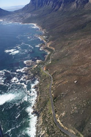 Scenic route from Cape Town
